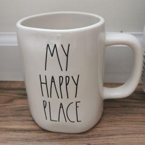 NEW RAE DUNN MY HAPPY PLACE MUG
